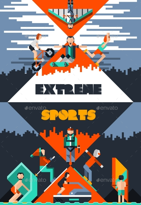 GraphicRiver Extreme Sports Poster 9815300