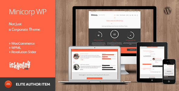 Minicorp WP - Not Just a Corporate Theme - Business Corporate
