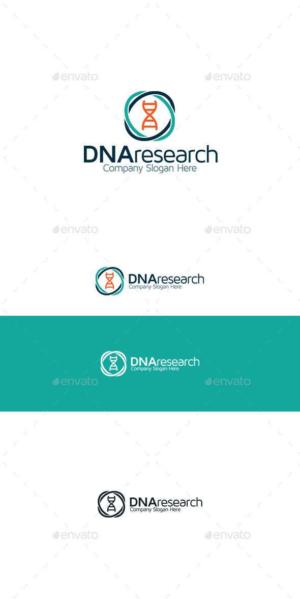 GraphicRiver DNA Research 9815374