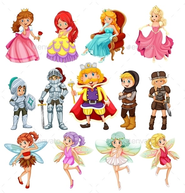 GraphicRiver Fantasy Characters 9815413