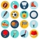 Sport Icons Set - GraphicRiver Item for Sale