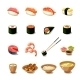 Asia Food Icon Set - GraphicRiver Item for Sale