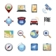 Gps Navigation Icons - GraphicRiver Item for Sale