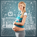 Pregnant Woman Looking For Christmas Gifts - PhotoDune Item for Sale