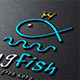 Kingfish Logo - GraphicRiver Item for Sale