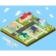 Isometric City Project - GraphicRiver Item for Sale