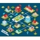 Isometric Geolocation Concept - GraphicRiver Item for Sale