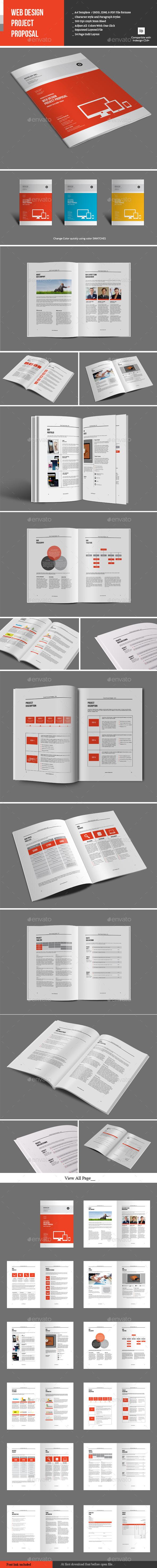 GraphicRiver Web Design Project Proposal 9816033