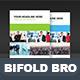 Bifold Corporate Brochure Template Vol04 - GraphicRiver Item for Sale