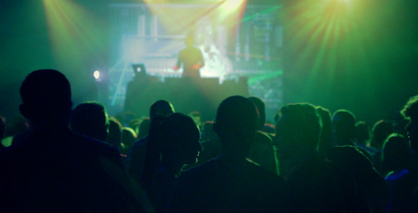 Club Party with a DJ
