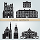Amiens Landmarks and Monuments - GraphicRiver Item for Sale