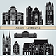 Angers Landmarks and Monuments - GraphicRiver Item for Sale