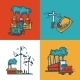 Industrial Sketch Banner Design - GraphicRiver Item for Sale