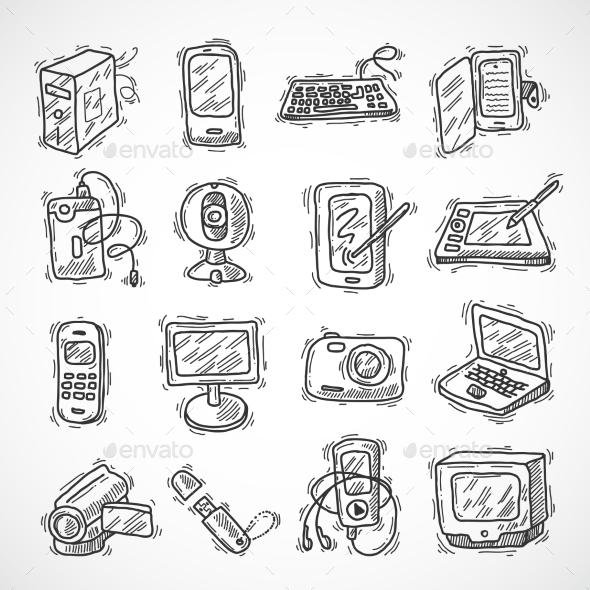 GraphicRiver Digital Devices Set 9816633