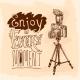 Camera Tripod Sketch  - GraphicRiver Item for Sale