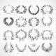 Wreath Heraldic Icons Set - GraphicRiver Item for Sale