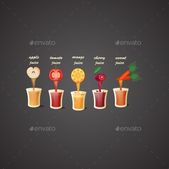 GraphicRiver Fresh Juices 9816662