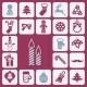 Christmas Icons Set - GraphicRiver Item for Sale