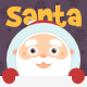 Santa Holding Sign Pack - GraphicRiver Item for Sale