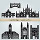 Cambridge Landmarks and Monuments - GraphicRiver Item for Sale