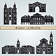 Rennes Landmarks and Monuments - GraphicRiver Item for Sale
