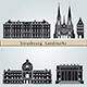 Strasbourg Landmarks and Monuments - GraphicRiver Item for Sale