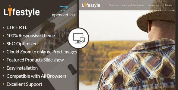 LifeStyle - Opencart Responsive Theme