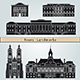 Tours Landmarks and Monuments - GraphicRiver Item for Sale