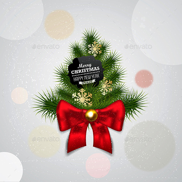 GraphicRiver Christmas Background 9817294