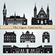 The Hague Landmarks and Monuments - GraphicRiver Item for Sale