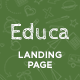 Educa - Education Landing Page Muse Template - ThemeForest Item for Sale