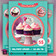 Cupcake Flyer Template - GraphicRiver Item for Sale