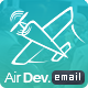 AirDev- Responsive Email Template + Builder Access - ThemeForest Item for Sale
