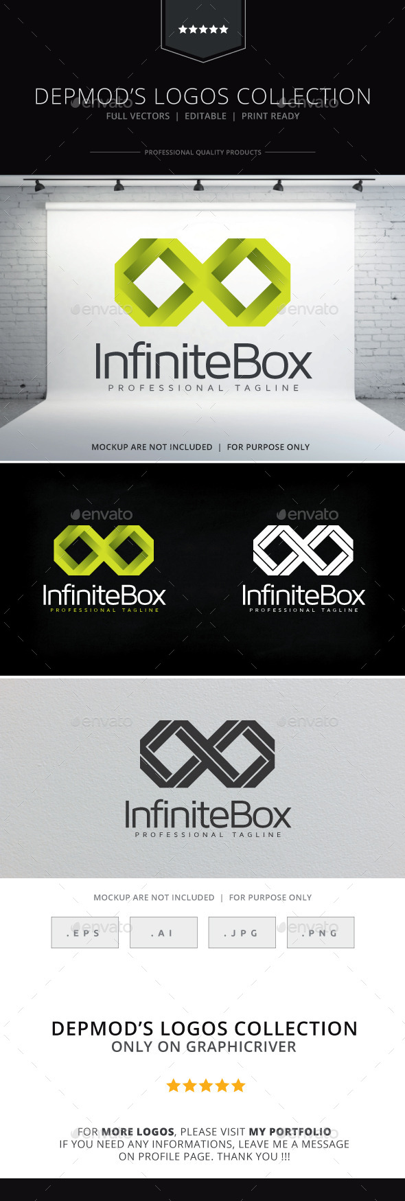 GraphicRiver Infinite Box Logo 9752739