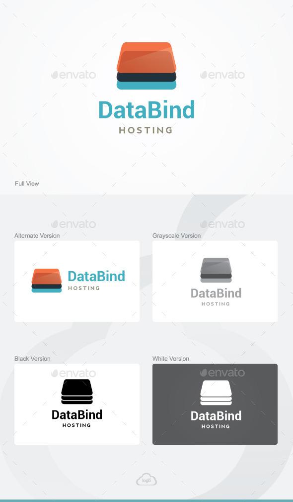 GraphicRiver Data Bind Logo Template 9818075