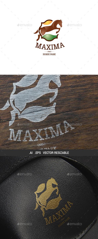 GraphicRiver Horse Park Logo Template 9818080