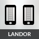Landor | Mobile & Tablet Responsive Template - Mobile Site Templates