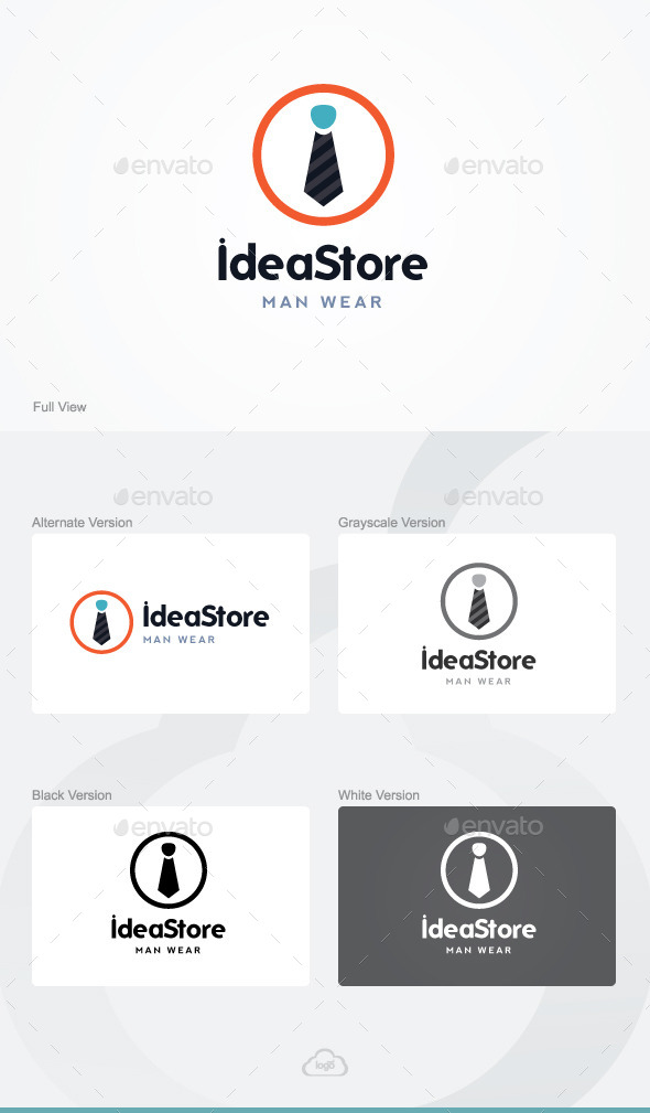 GraphicRiver Idea Store Logo Template 9818086