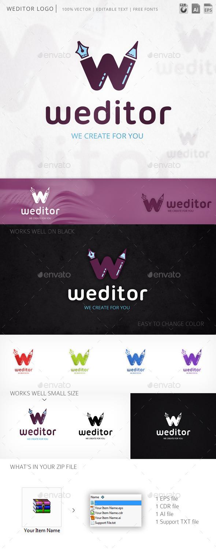 GraphicRiver Weditor Logo 9818128