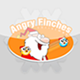 Angry Finches Christmas