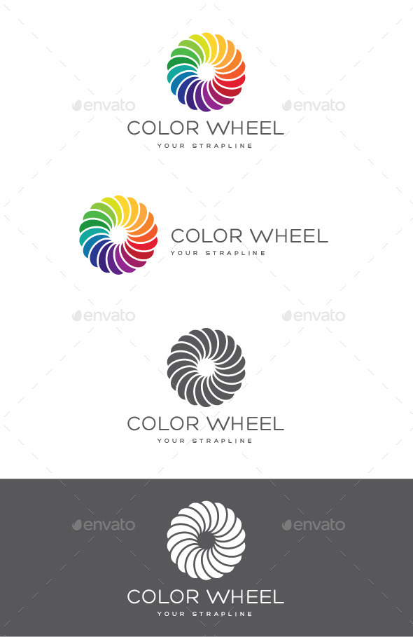 GraphicRiver Color Wheel Logo 9818330