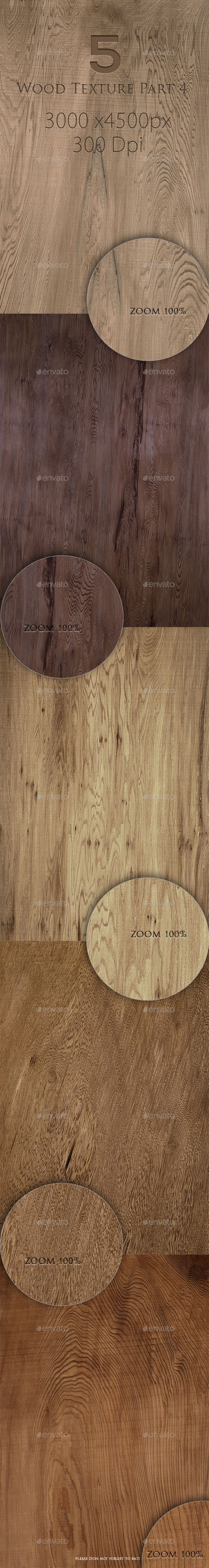 GraphicRiver 5 Wood Texture Part 4 9764025