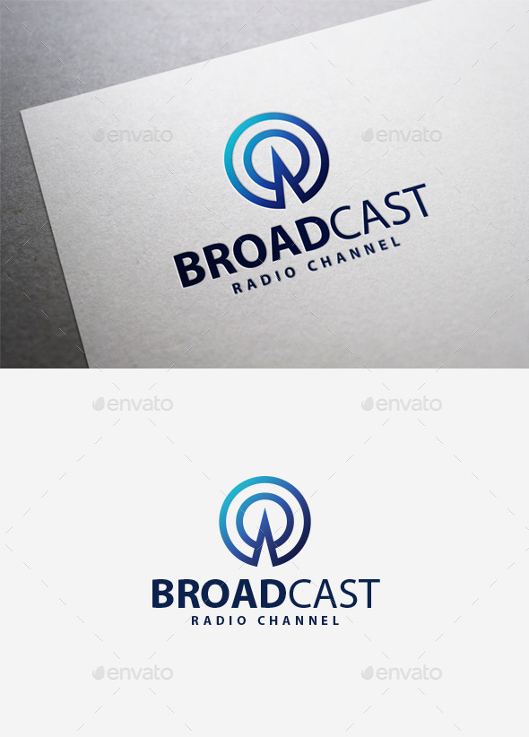 GraphicRiver Broadcast Logo 9818693