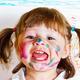 little girl draws paints - PhotoDune Item for Sale