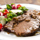 beef  garnished with fresh salad - PhotoDune Item for Sale