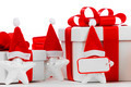 Gift boxes with santa claus stars - PhotoDune Item for Sale
