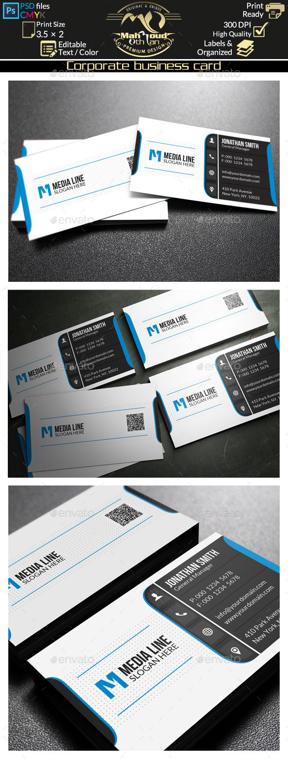Corporate Business Card 65