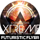 Xtreme Futuristic Flyer Design - GraphicRiver Item for Sale