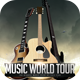 Music World Tour Flyer Template - GraphicRiver Item for Sale
