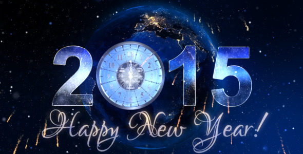 New Year Countdown Clock 2015 V3